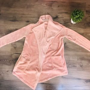 Hue baby pink super soft cardigan sweater